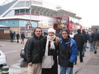 rocio at west ham stadium